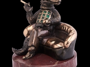 Новинка! Статуэтка бронзовая  «Oligarch». Ярмарка Мастеров - ручная работа, handmade.