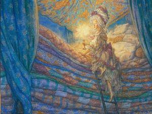 Мягко стелет, жестко спать: история принцессы на горошине в рисунках А.Ломаева. Ярмарка Мастеров - ручная работа, handmade.