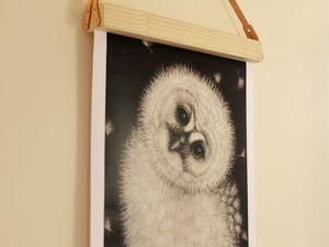 Магнитная рамка для постера, фотографии, календаря, рисунка. Ярмарка Мастеров - ручная работа, handmade.