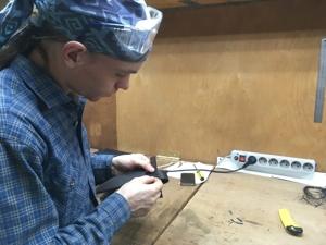 Процесс создания кожаных изделий. Ярмарка Мастеров - ручная работа, handmade.