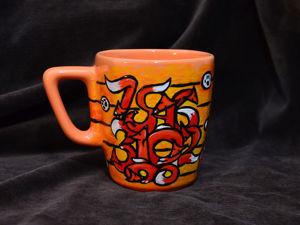 Уход за керамикой с росписью (кружка  «Лисички» ). Ярмарка Мастеров - ручная работа, handmade.