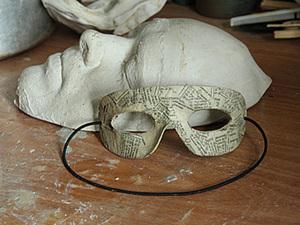 Гипсовая маска лица. Снятие гипсовой маски с лица для изготовления маски из папье-маше.. Ярмарка Мастеров - ручная работа, handmade.
