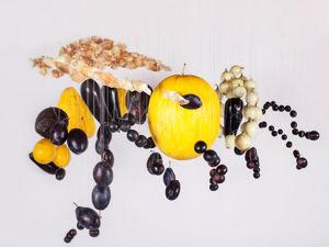 Литовские художницы Эмилия Винжановайте и Йолита Ваиткуте. Их необычные картины из еды. Ярмарка Мастеров - ручная работа, handmade.