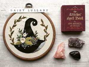 Вышивка для ведьмочки: 20 работ Paige Ashleigh для тех, кто верит в волшебство. Ярмарка Мастеров - ручная работа, handmade.