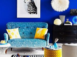 The Enchanting Ultramarine: Bright Colours in Your Wardrobe and Interior. Livemaster - handmade