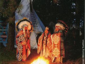 На Фонтане с индейцами. Ярмарка Мастеров - ручная работа, handmade.