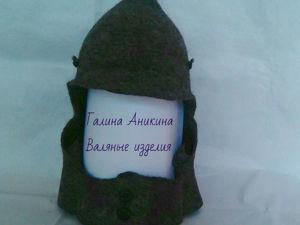 НОВИНКА!!! Шапка валяная мужская  «Будёновка». Ярмарка Мастеров - ручная работа, handmade.