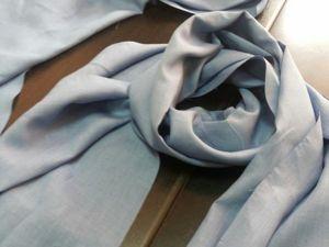 Палантин из льняной ткани. Ярмарка Мастеров - ручная работа, handmade.