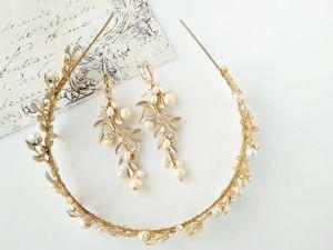 Свадебные украшения на заказ. Или как невесты могут забыть про украшения. Ярмарка Мастеров - ручная работа, handmade.