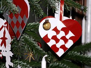 Датское рождественское сердечко. Ярмарка Мастеров - ручная работа, handmade.