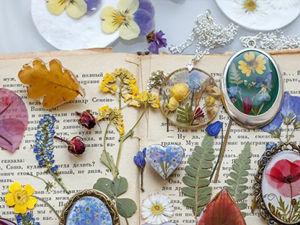 Популярные виды цветов для заливки эпоксидной смолой. Ярмарка Мастеров - ручная работа, handmade.