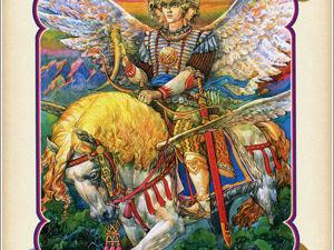 Славянский бог Световид и что о нём известно?. Ярмарка Мастеров - ручная работа, handmade.