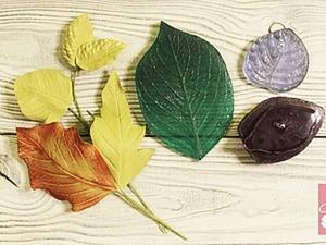 Видео мастер-класс: как сделать листья из фоамирана при помощи разных молдов. Ярмарка Мастеров - ручная работа, handmade.