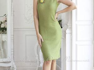 Видео-ролик, платье  «Травяной чай». Ярмарка Мастеров - ручная работа, handmade.