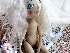 Простое платье для куколки. Ярмарка Мастеров - ручная работа, handmade.