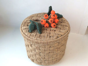 Making Basket of Jute, Cardboard with your own Hands. Livemaster - handmade