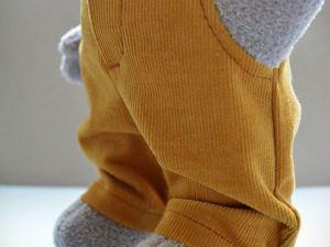 Шьём брюки с карманами для игрушки. Ярмарка Мастеров - ручная работа, handmade.