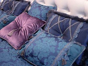Синий цвет в спальне. Ярмарка Мастеров - ручная работа, handmade.