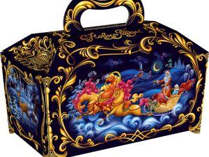 Скоро аукцион  «Новогодний сундучок». Ярмарка Мастеров - ручная работа, handmade.