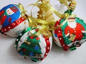 Как сделать мягкие новогодние шары «Зимняя сказка». Ярмарка Мастеров - ручная работа, handmade.
