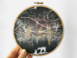 Freedom in Craftsmanship: Amazing Embroidery by Ell Violet. Livemaster - handmade