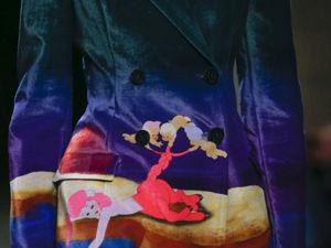 Буйство фантазии и нотки эпатажа в коллекции Mary Katrantzou: детали показа. Ярмарка Мастеров - ручная работа, handmade.