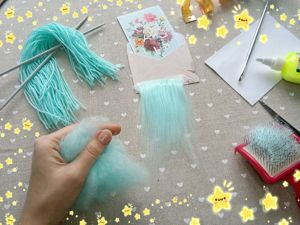 How to Make Handmade Doll Hair. Livemaster - handmade