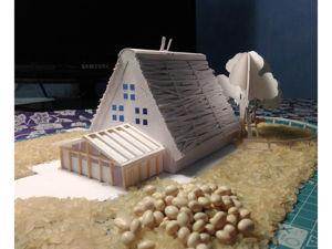 Создаем Новогоднюю композицию из бумаги. Часть — 2. Ярмарка Мастеров - ручная работа, handmade.