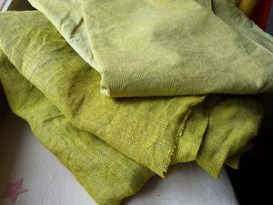 Окрашиваем ткань натуральными красителями. Красим куркумой. Ярмарка Мастеров - ручная работа, handmade.