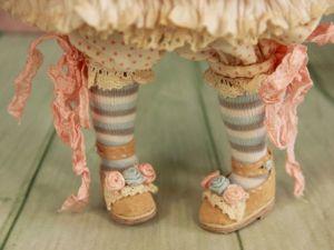 Шьем чулочки для куклы. Ярмарка Мастеров - ручная работа, handmade.