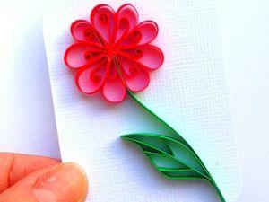 Искусство бумагокручения: создаем цветок в технике контурный квиллинг. Ярмарка Мастеров - ручная работа, handmade.
