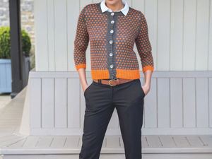 Fall Fashion: 50 Knitted Models out of Irish Tweed. Livemaster - handmade