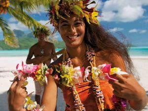 Райские цветы острова Таити. Ярмарка Мастеров - ручная работа, handmade.