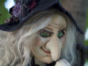 Ведьма с летучей мышью. Ярмарка Мастеров - ручная работа, handmade.
