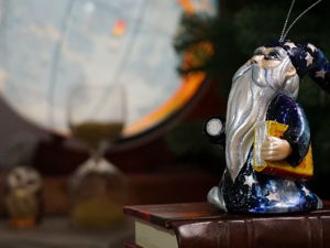 Звездочет: роспись витражными красками. Ярмарка Мастеров - ручная работа, handmade.
