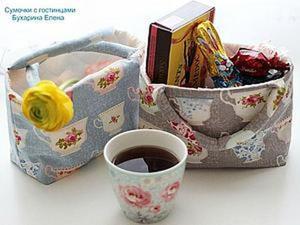 Делаем сумочки для пасхальных гостинцев. Ярмарка Мастеров - ручная работа, handmade.