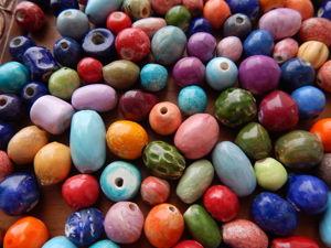 Как создаются керамические бусины. Ярмарка Мастеров - ручная работа, handmade.