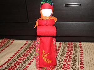 """Мастер-класс: кукла-оберег """"На беременность"""". Ярмарка Мастеров - ручная работа, handmade."""