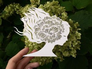 Inspired by Nature, or Paper Patterns by Eugenia Zoloto. Livemaster - handmade