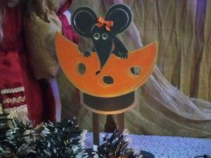 Мышка участвует в конкурсе. Ярмарка Мастеров - ручная работа, handmade.