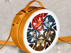 Яркое солнышко на плече: «Пять котят», оранжевая модель. Ярмарка Мастеров - ручная работа, handmade.