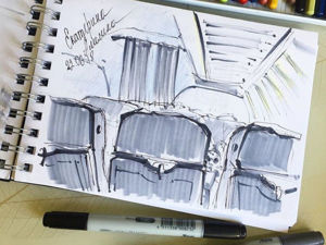 Как начать рисовать с помощью скетчинга. Ярмарка Мастеров - ручная работа, handmade.