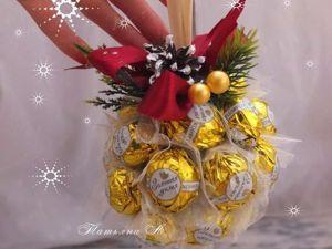 Идея сладкого подарка на новый год. Ярмарка Мастеров - ручная работа, handmade.