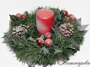 МК Новогодний декор свечи - просто и быстро!. Ярмарка Мастеров - ручная работа, handmade.