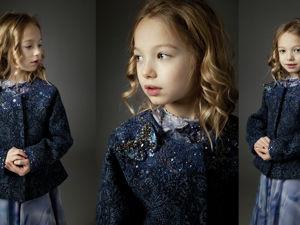 Пальто детское премиум Этро. Ярмарка Мастеров - ручная работа, handmade.