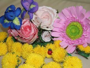 Топ-10 удивительных фактов о фоамиране. Ярмарка Мастеров - ручная работа, handmade.