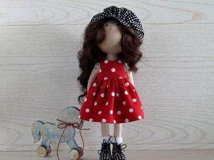 Как очень просто сшить кепку для куклы. Ярмарка Мастеров - ручная работа, handmade.