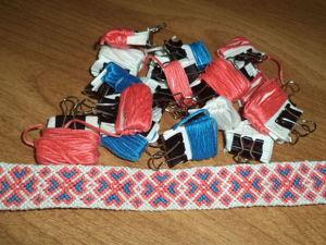 Сплетённые фенечки. Ярмарка Мастеров - ручная работа, handmade.