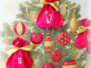 Создаем Рождественский православный календарь на 7 дней. Ярмарка Мастеров - ручная работа, handmade.