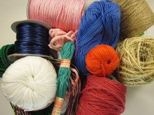 Видео-обзор нитей для плетения макраме. Ярмарка Мастеров - ручная работа, handmade.